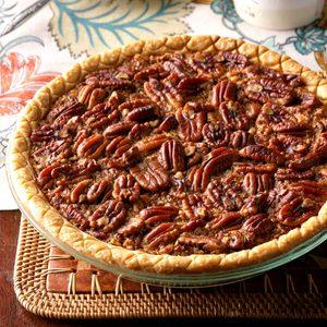 Easy Bourbon Pecan Pie