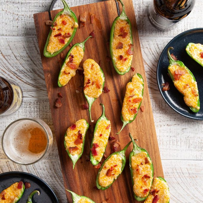 Easy Cheese-Stuffed Jalapenos
