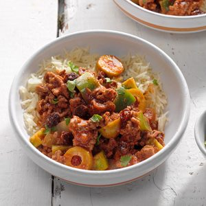 Easy Cuban Picadillo