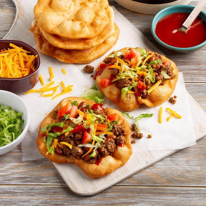 Easy Fry Bread Tacos