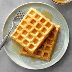 Easy Morning Waffles