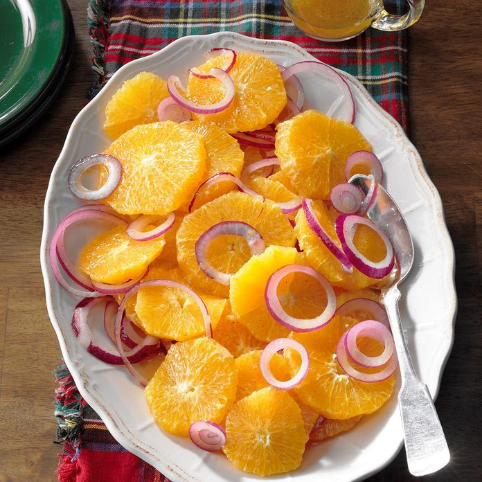 Easy Orange and Red Onion Salad
