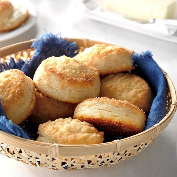 Easy Parmesan Biscuits