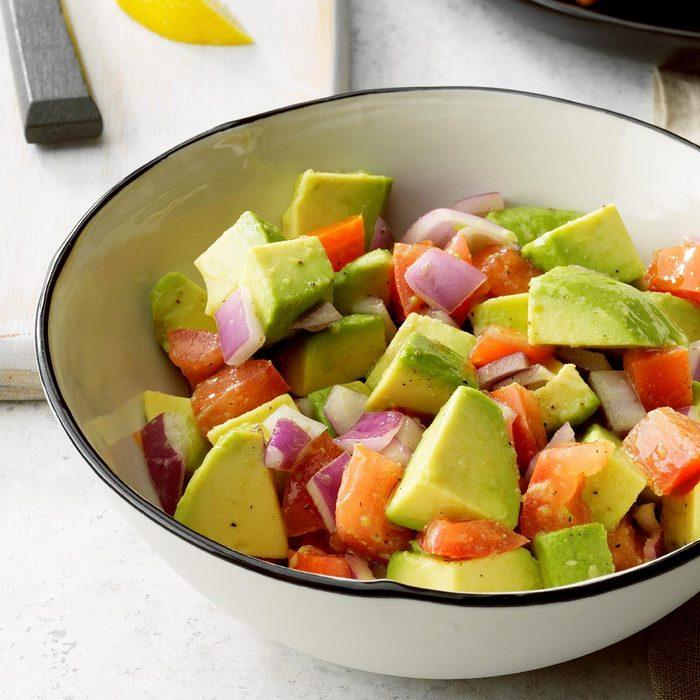 Easy Tomato Avocado Salad