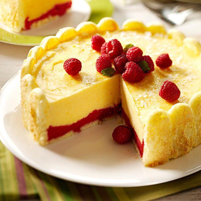 Eggnog Ladyfinger Dessert