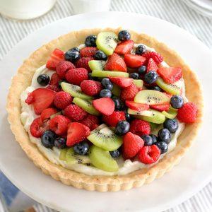 Elegant Fresh Berry Tart