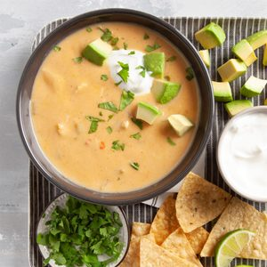 Enchilada Chicken Soup