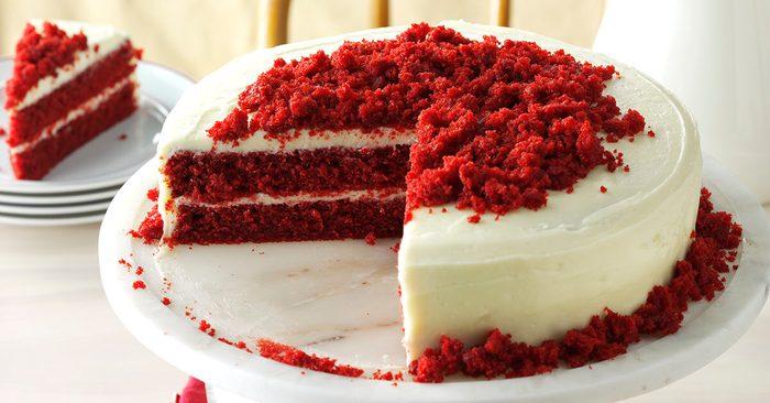 Best red velvet cake recipe.