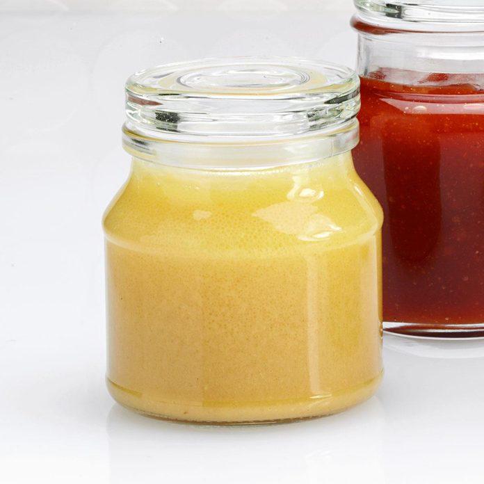 Fast Honey-Mustard Salad Dressing