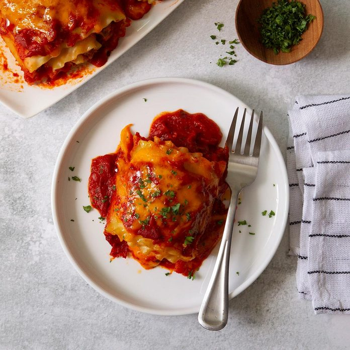 Day 2: Favorite Lasagna Roll-Ups