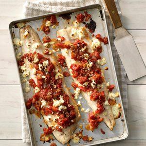 Feta Tomato-Basil Fish