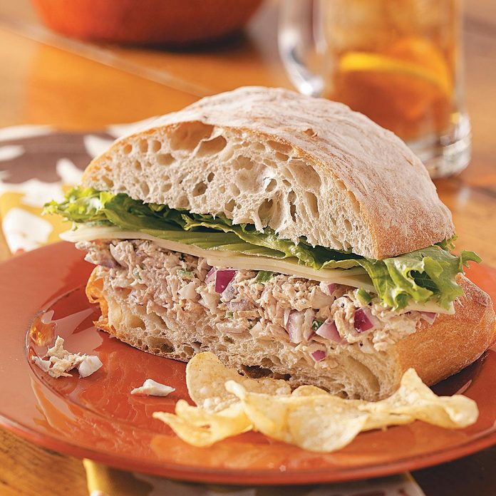 Inspired by: Tuna Salad Cafe Sandwich