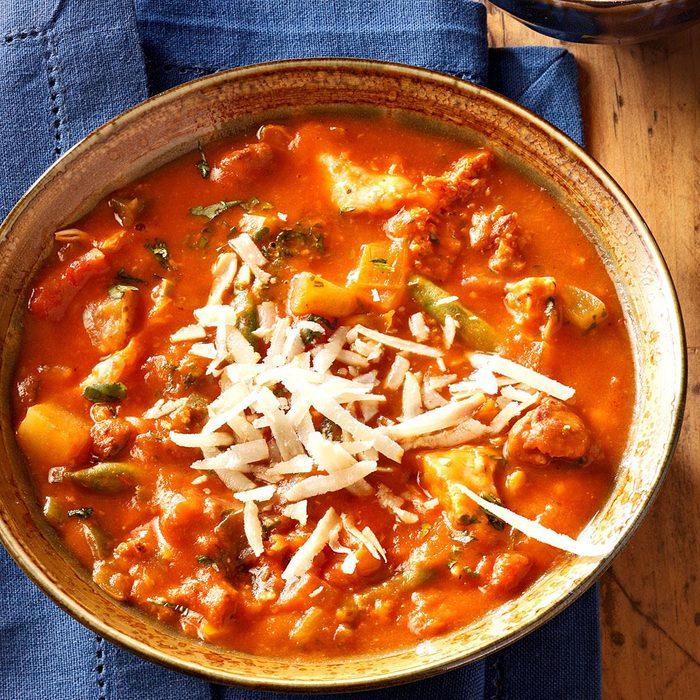 Fiesta-Twisted Brunswick Stew