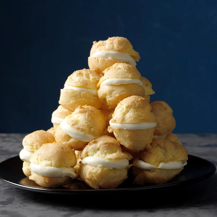 Finger-Licking Good Mini Cream Puffs