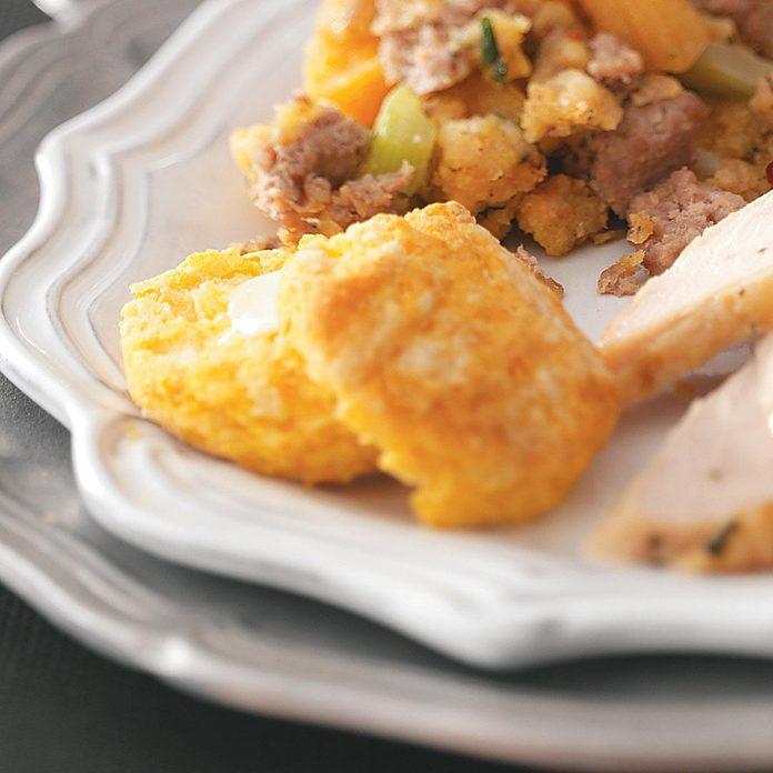 Flaky Sweet Potato Biscuits