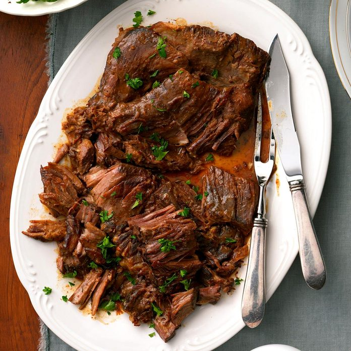 Slow Cooker: Flavorful Pot Roast