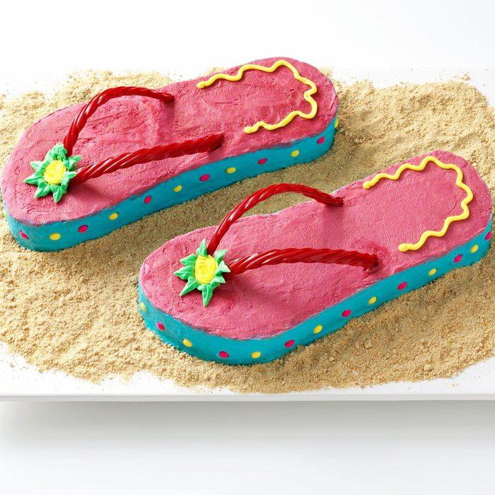 Flip-Flop Cakes