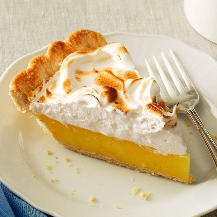 Florida Citrus Meringue Pie