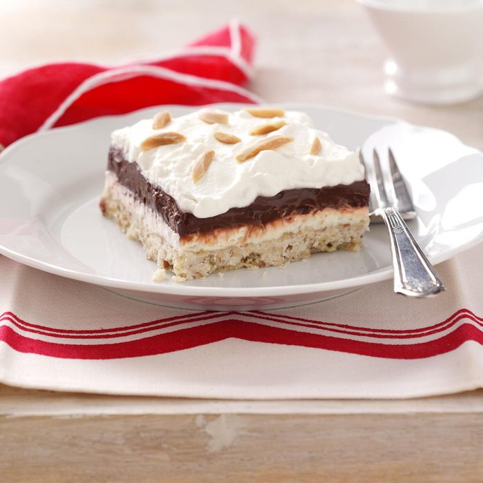 Four-Layer Chocolate Dessert