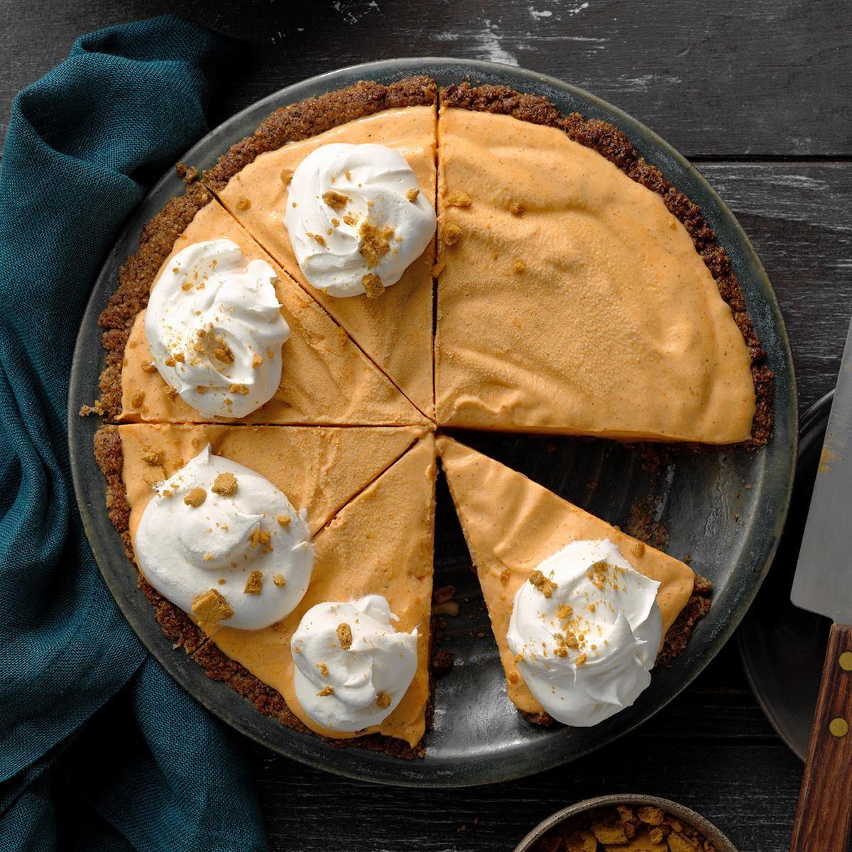 Wyoming: Freezer Pumpkin Pie