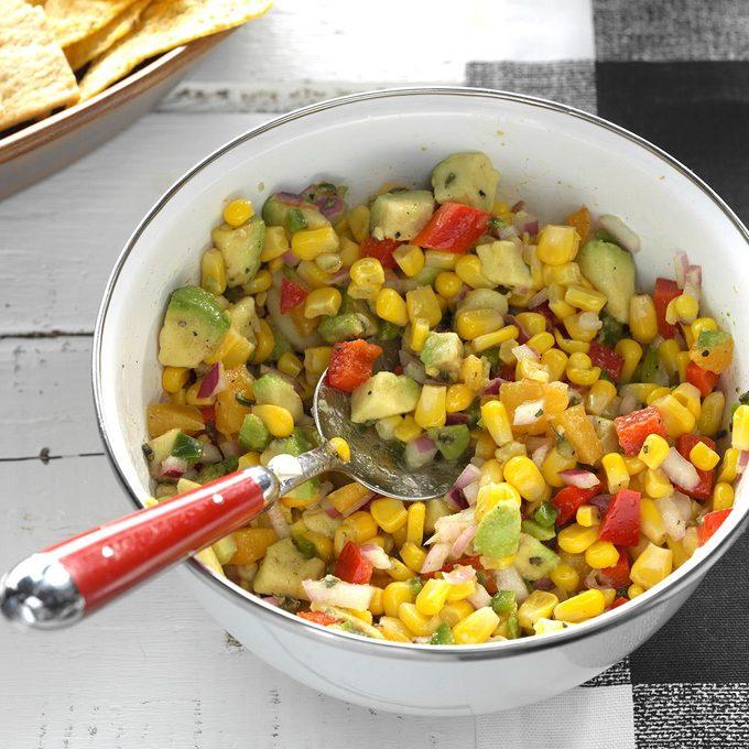 Fresh Corn Avocado Dip Exps Thjj17 177930 C02 03 4b 5