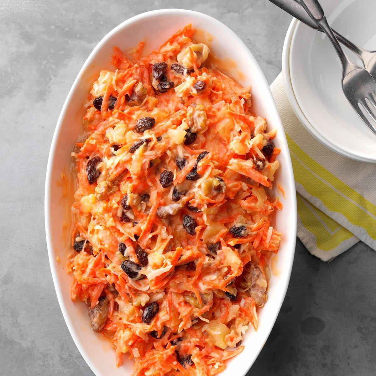 West Virginia: Fresh Ginger Carrot Salad