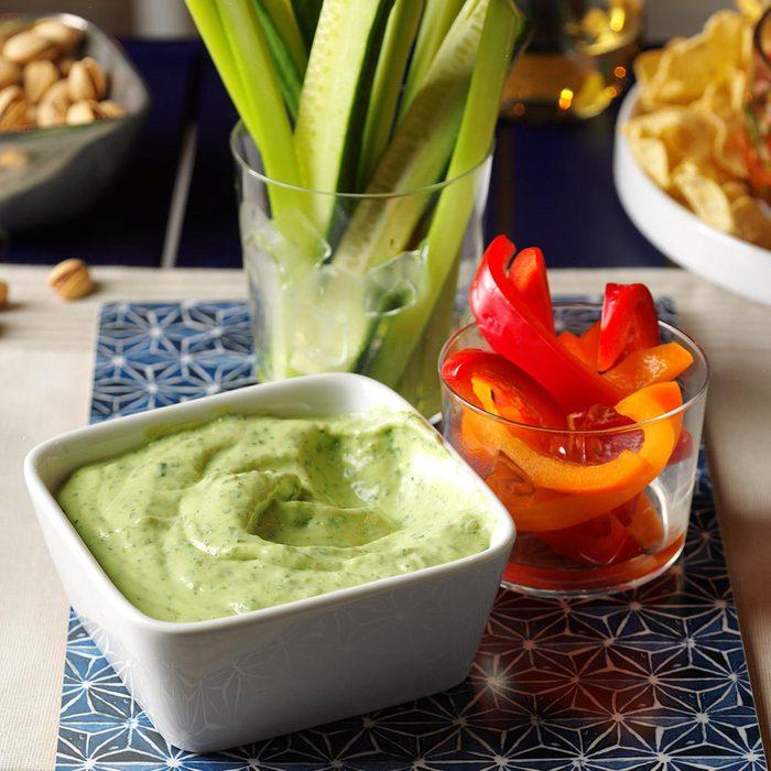 Fresh Herb Vegetable Dip