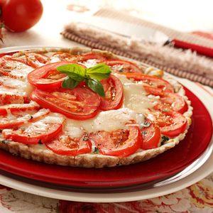 Fresh Tomato Basil Tart
