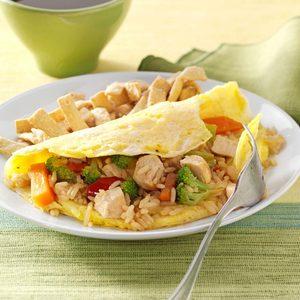 Fried Rice Omelet