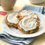Frosted Oatmeal Cookies
