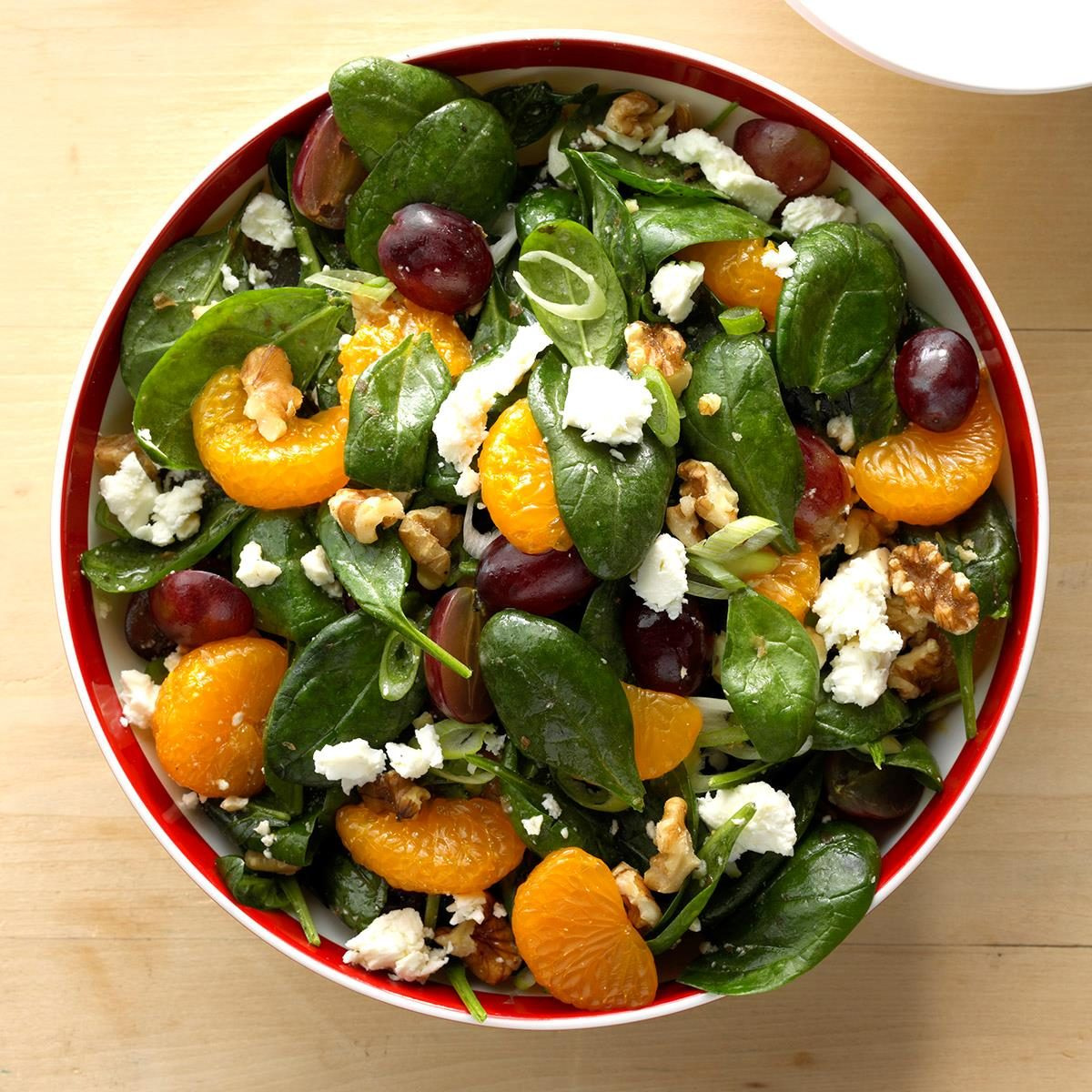 Fruit & Spinach Salad