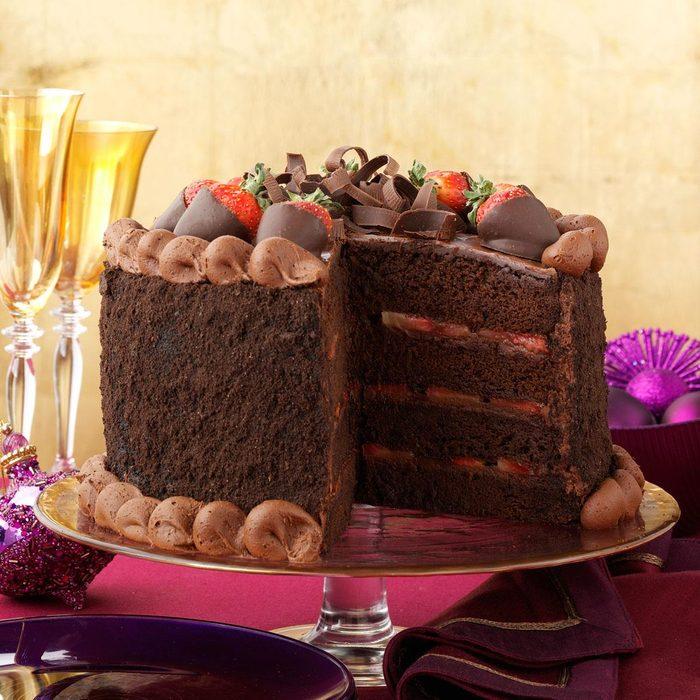 Fudge Fantasy Cake