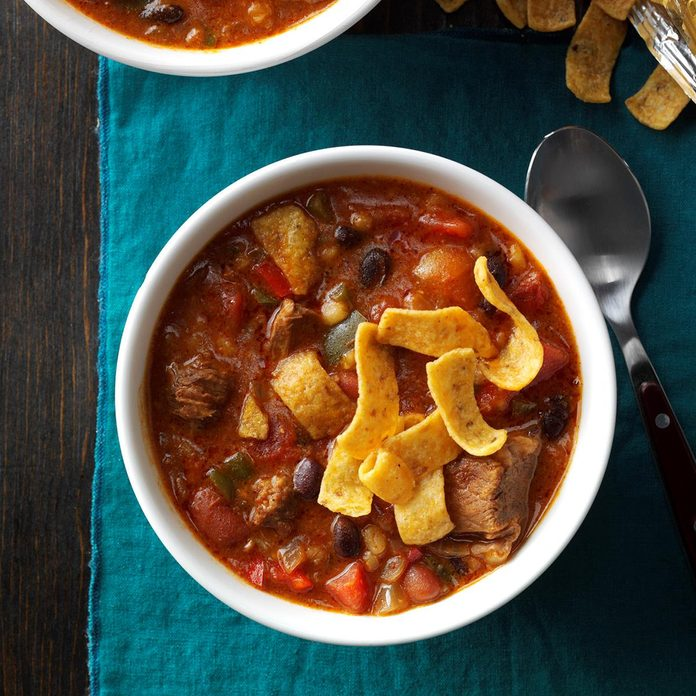 Inspired by: Texas Red Chili