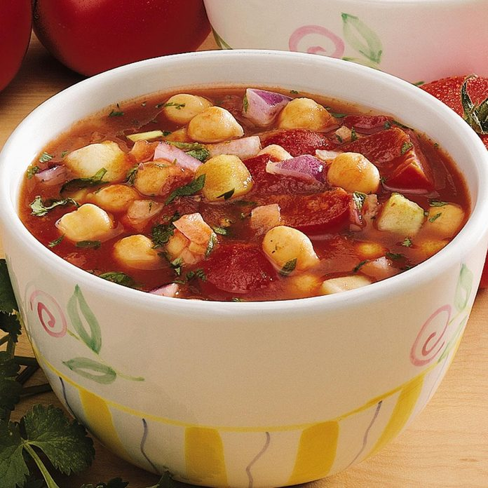 Garbanzo Gazpacho