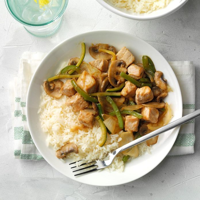 July 16: Garden Pork Stir-Fry