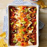 Garlic Beef Enchiladas