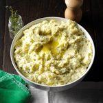 Garlic and Herb Mashed Potatoes