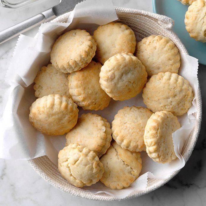 Garlic Potato Biscuits