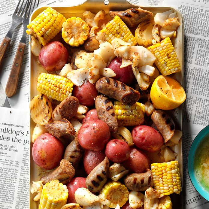 July 11: German Brat Seafood Boil