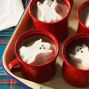 Ghostly Hot Cocoa