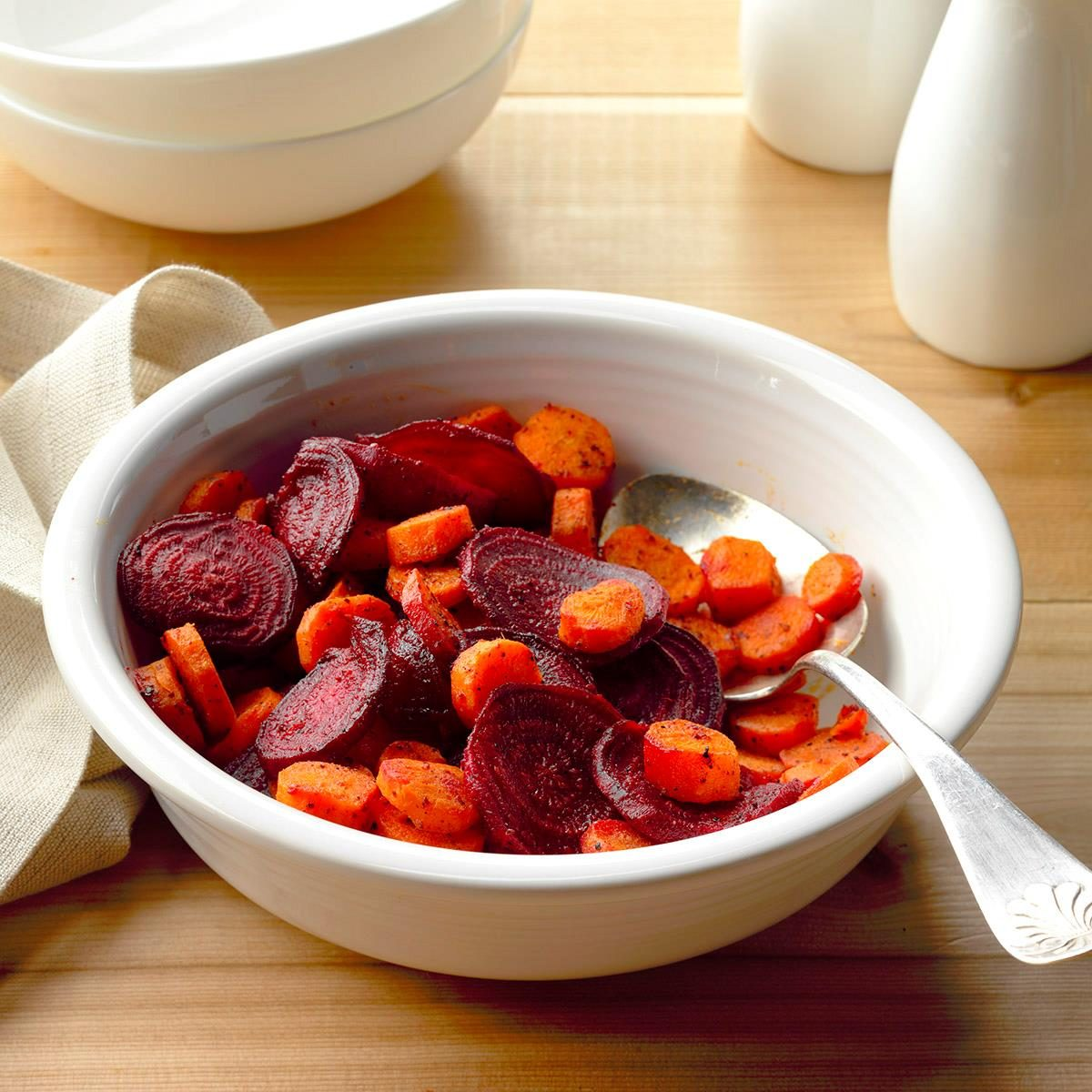 Ginger Beets and Carrots