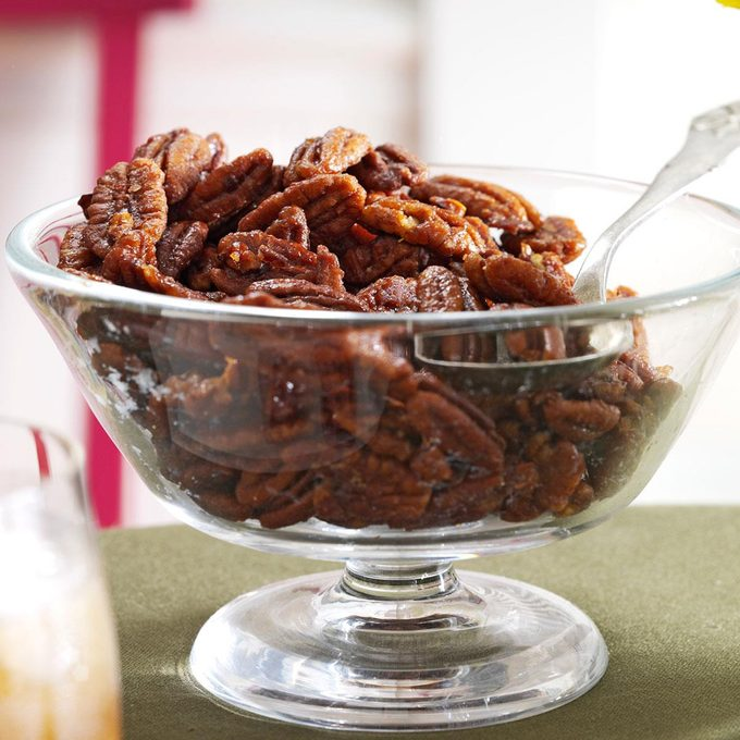 Ginger Maple Roasted Pecans Exps136611 Th132104c07 03 5bc Rms
