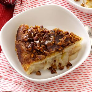 Ginger-Pear Upside-Down Pie