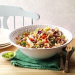 Ginger Veggie Brown Rice Pasta