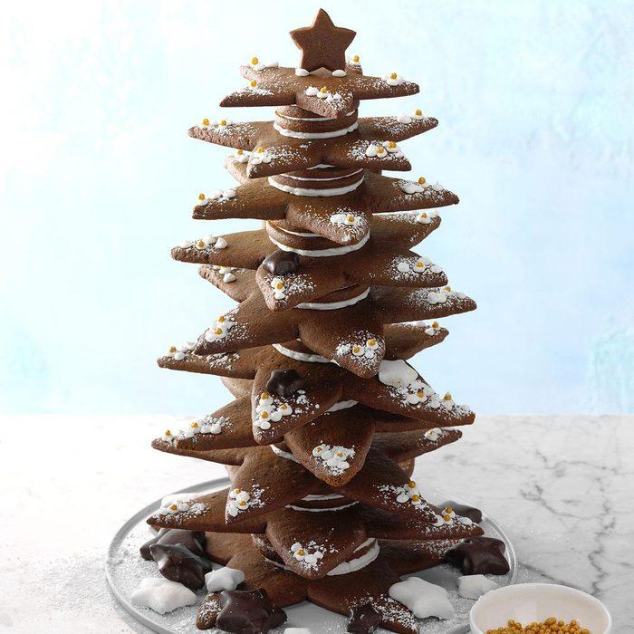 Gingerbread Star Tree