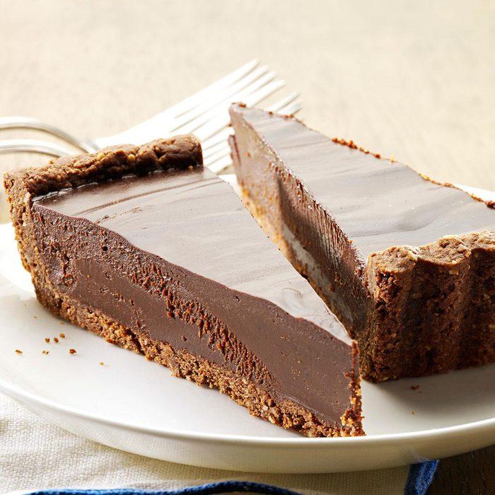 Gingered Almond Truffle Tart