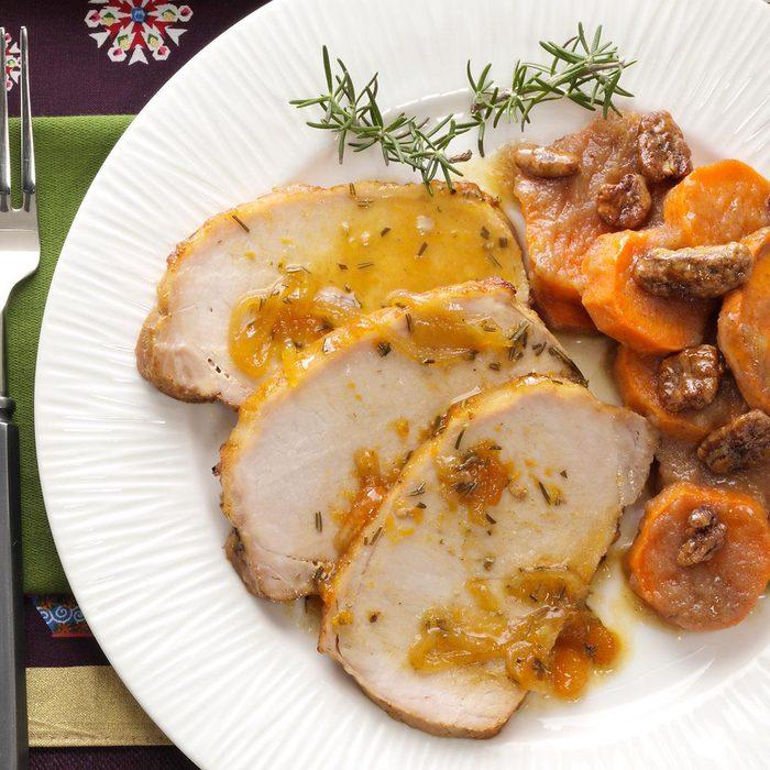 Glazed Rosemary Pork Roast
