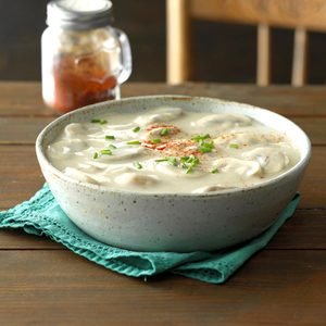 Golden Gouda Mushroom Soup