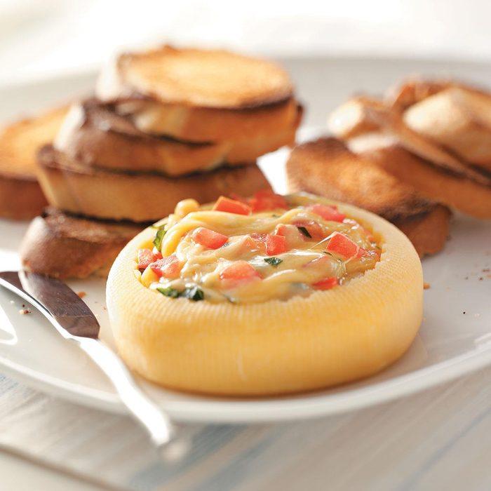 Gouda Melt with Baguette Slices