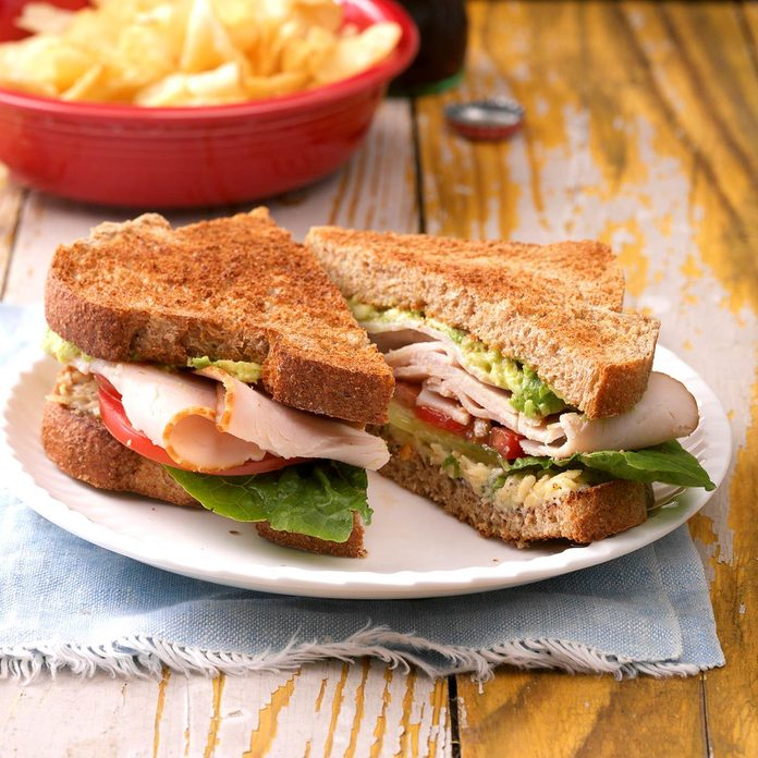 Inspired by: Roasted Turkey & Avocado BLT Sandwich